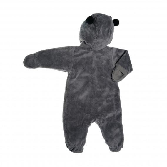 Памучен космонавт с качулка и ръкавички за бебе момиче Pinokio 42597 2