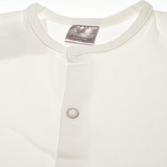 Памучна блуза с дълъг ръкав за бебе - унисекс Pinokio 42626 2