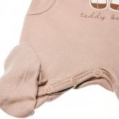 Памучен гащеризон без ръкав за бебе - унисекс Pinokio 42640 2