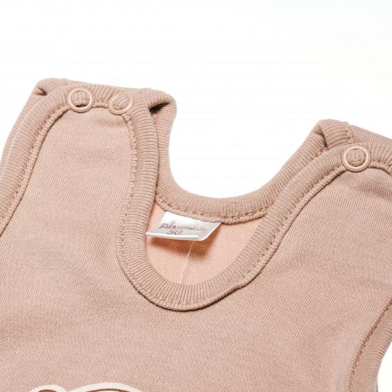 Памучен гащеризон без ръкав за бебе - унисекс Pinokio 42641 3