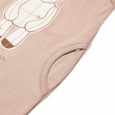 Памучен гащеризон без ръкав за бебе - унисекс Pinokio 42645 5