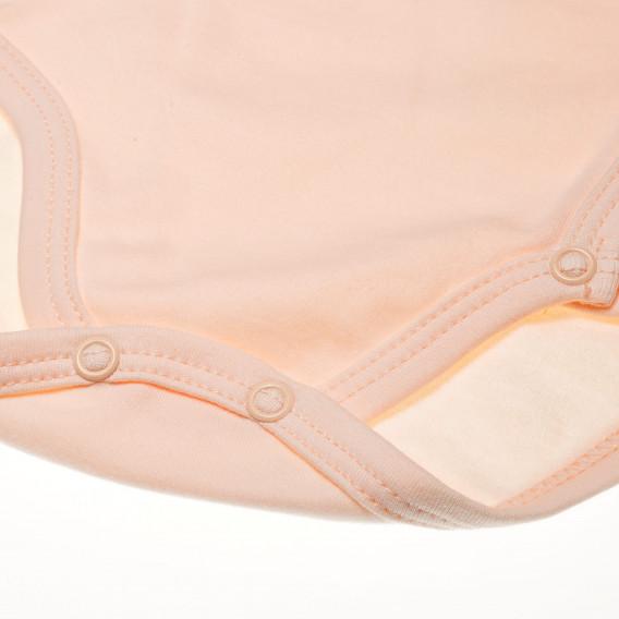 Памучно боди с дълъг ръкав за бебе момиче Pinokio 42653 3