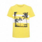Памучна тениска с къс ръкав за момче Name it 42807