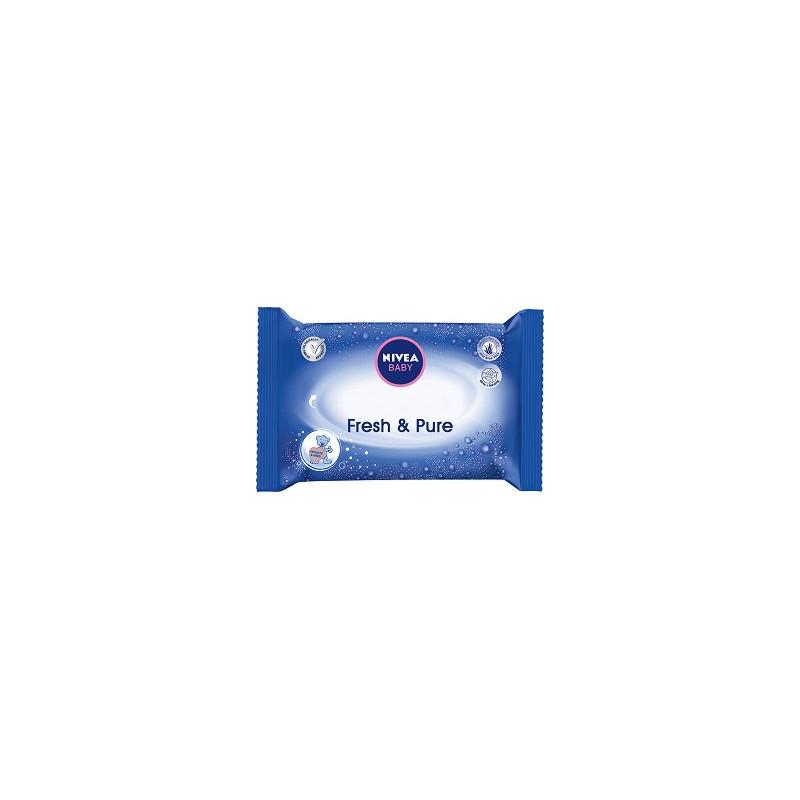 Baby кърпички fresh & pure с лек лосион, 63 бр.  42898