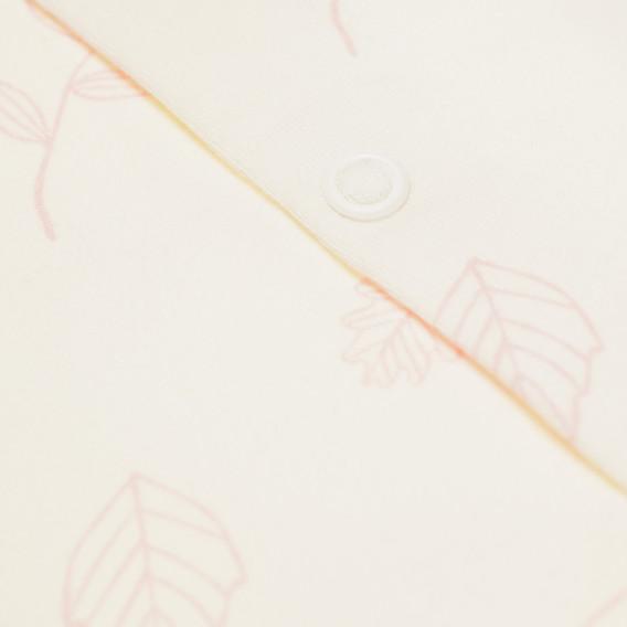 Памучна жилетка за бебе момиче Pinokio 43027 2