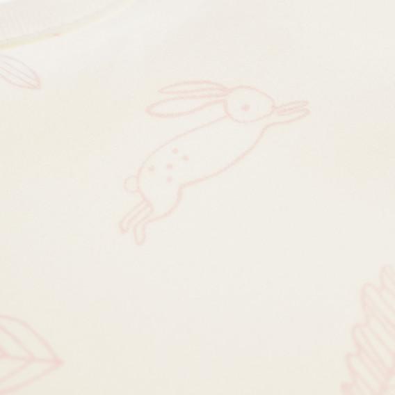 Памучна жилетка за бебе момиче Pinokio 43028 3