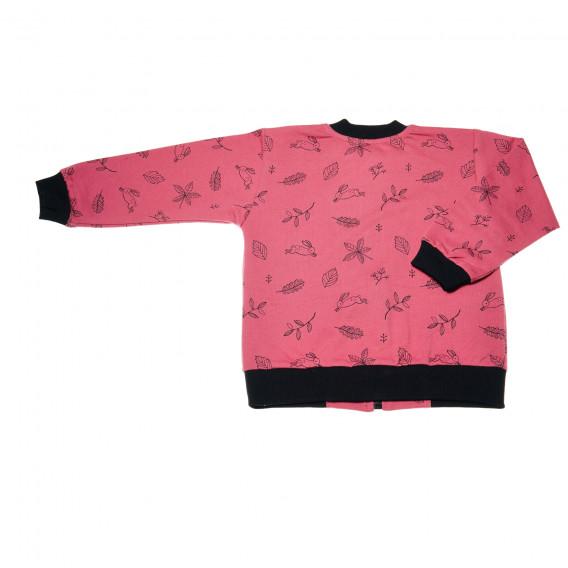 Памучно яке за бебе момиче Pinokio 43057 2