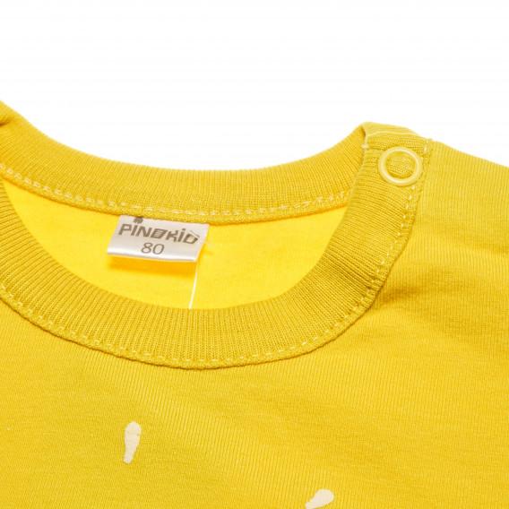 Памучна блуза с дълъг ръкав за бебе - унисекс Pinokio 43083 5