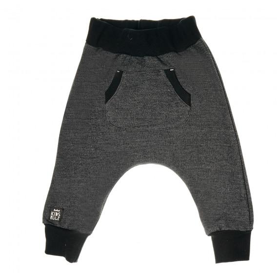 Памучен панталон тип потури за бебе - унисекс Pinokio 43115 2