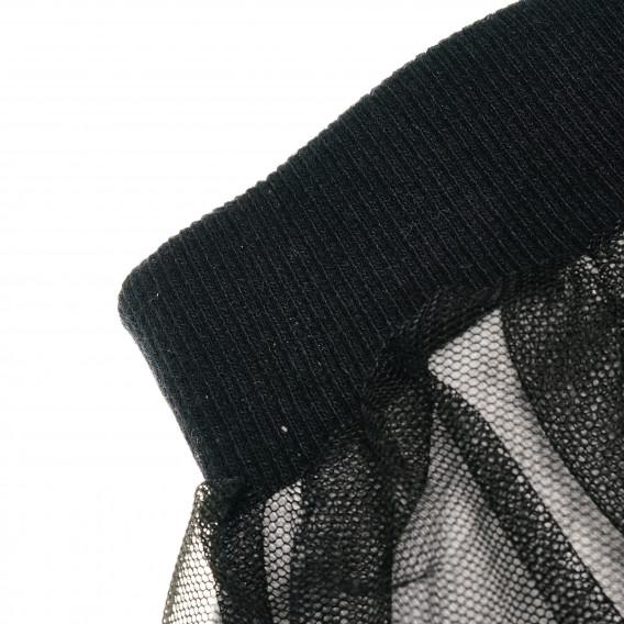 Пола от тюл с памучна мека подплата за бебе Pinokio 43122 2