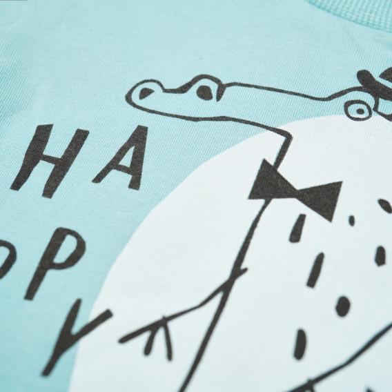 Памучна блуза с дълъг ръкав за бебе - унисекс Pinokio 43161 5