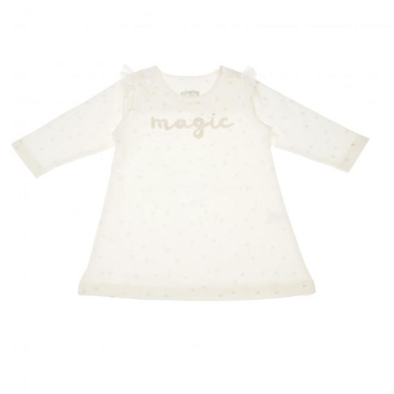 Памучна рокля с дълъг ръкав за бебе Pinokio 43192 2