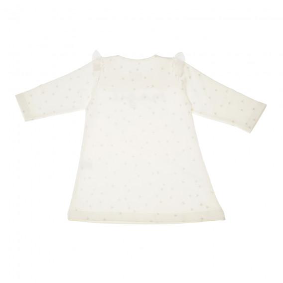 Памучна рокля с дълъг ръкав за бебе Pinokio 43194 4