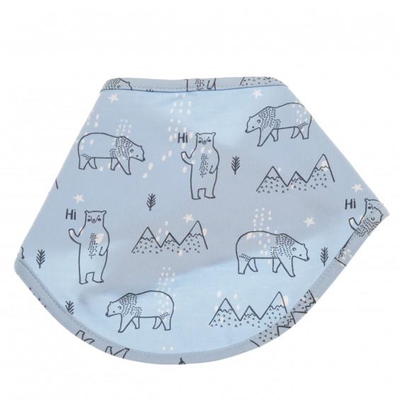 Памучна бандана за бебе - унисекс Pinokio 43227 2