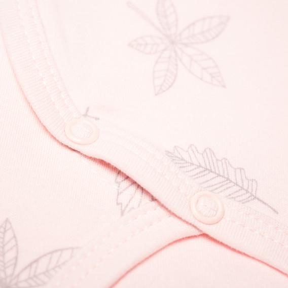 Памучно боди с дълъг ръкав за бебе момиче Pinokio 43298 2