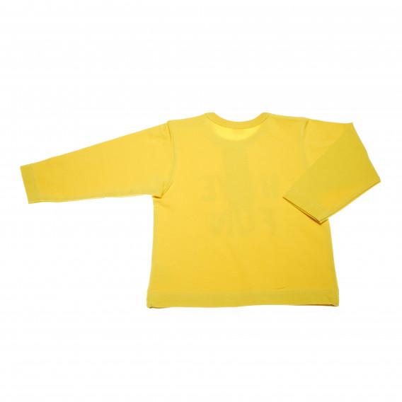 Памучна блуза с дълъг ръкав за бебе - унисекс Pinokio 43426 3