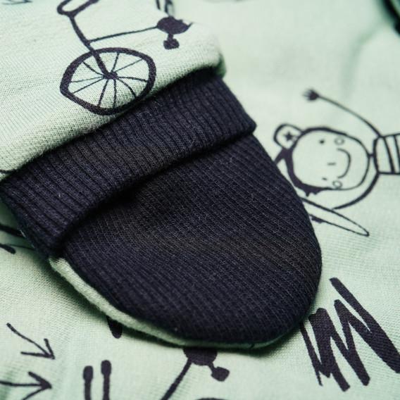 Памучен космонавт за бебе момче Pinokio 43509 3