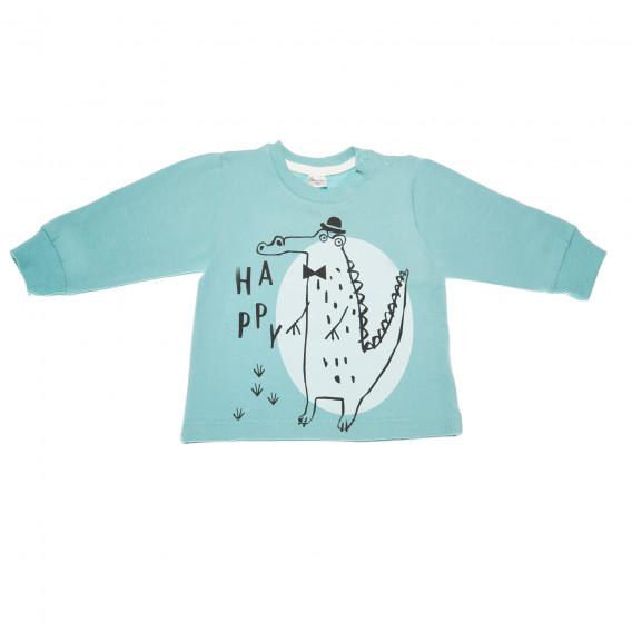 Памучна блуза с дълъг ръкав за бебе - унисекс Pinokio 43588 2