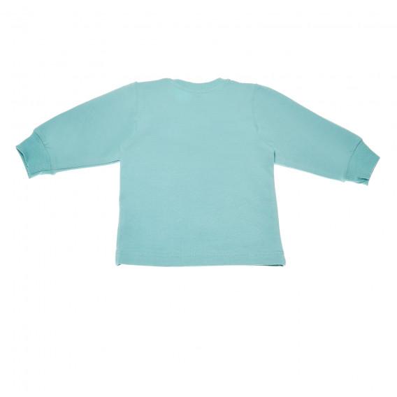 Памучна блуза с дълъг ръкав за бебе - унисекс Pinokio 43590 3