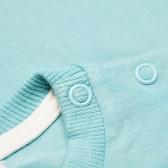 Памучна блуза с дълъг ръкав за бебе - унисекс Pinokio 43592 4