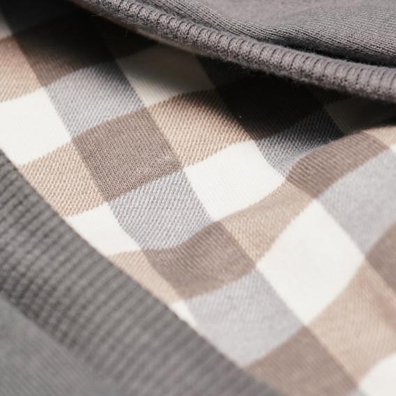 Памучна блуза с дълъг ръкав за бебе момче Pinokio 43759 3