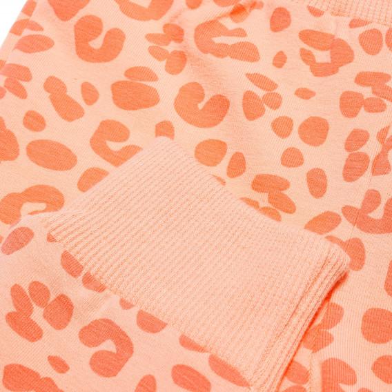 Памучен панталон с широк ластик за бебе момиче Pinokio 43840 2