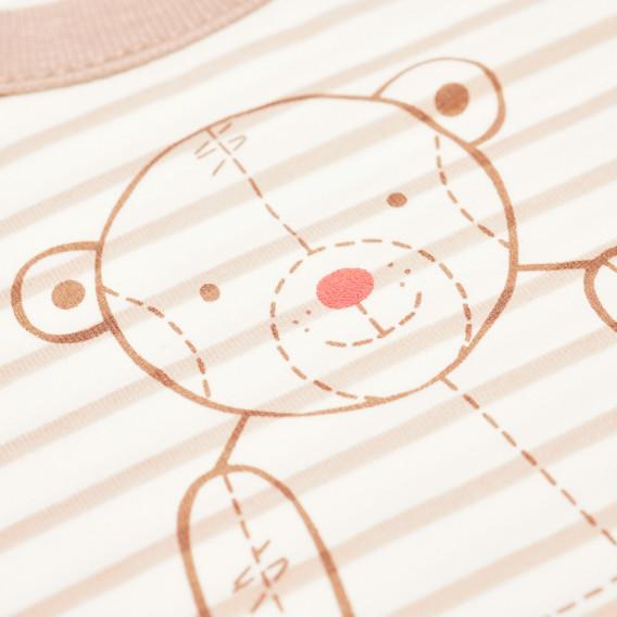 Памучна блуза с дълъг ръкав за бебе - унисекс Pinokio 43894 2