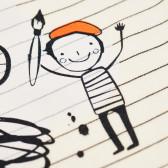 Памучно боди с дълъг ръкав за бебе - унисекс Pinokio 43917 3