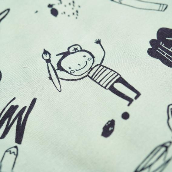 Памучен космонавт за бебе момче Pinokio 43937 4