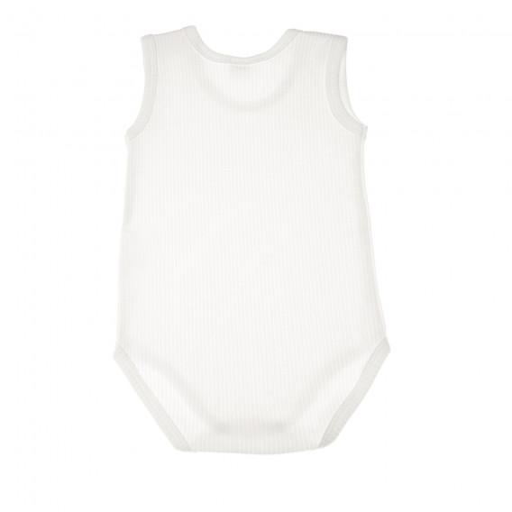 Памучно боди без ръкав за бебе - унисекс Pinokio 44002 2