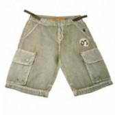 Памучен панталон за момче Roberto Cavalli 44065