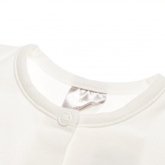 Памучна жилетка с дълъг ръкав за бебе момиче Pinokio 44082 2