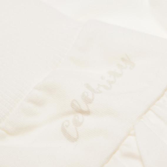 Памучни ританки с широк ластик за бебе момиче Pinokio 44090 3