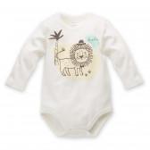 Памучно боди с дълъг ръкав за бебе - унисекс Pinokio 44298