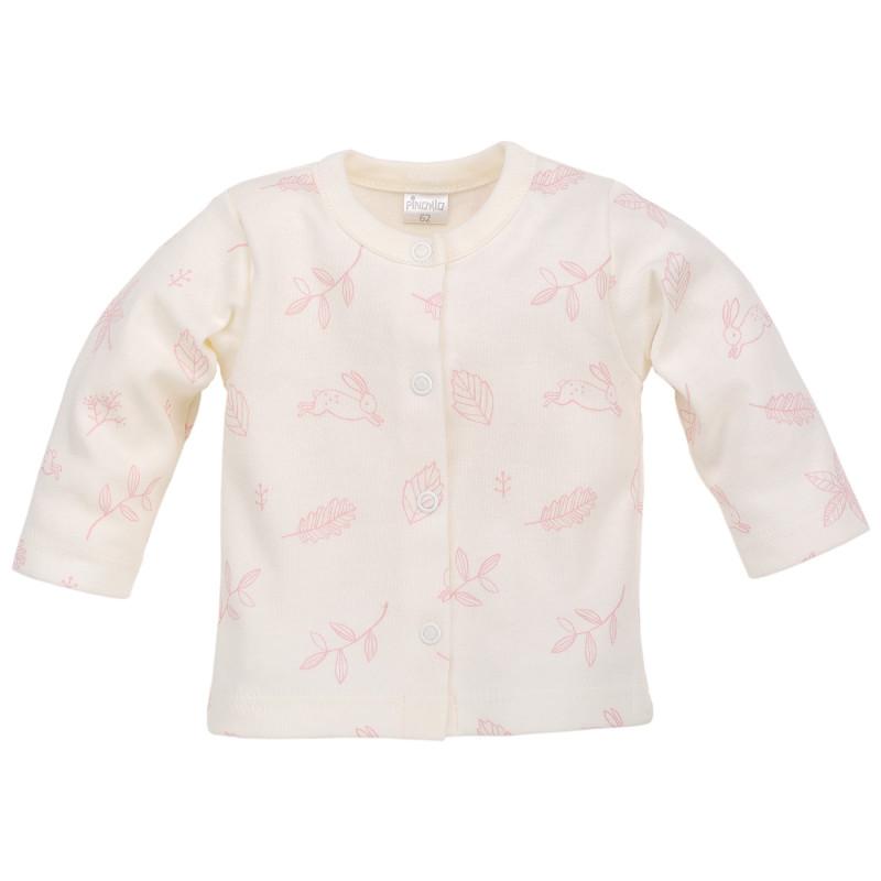 Памучна жилетка за бебе момиче  44390
