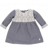 Памучна рокля с дълъг ръкав за бебе Pinokio 44391