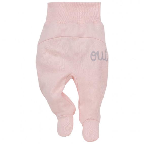 Памучни ританки с широк ластик за бебе момиче Pinokio 44393