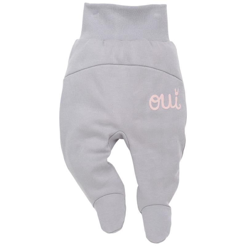 Памучни ританки с широк ластик за бебе момиче  44420