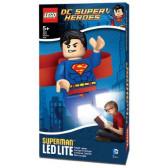 Lego - челник с led лампа superman Lego 44485