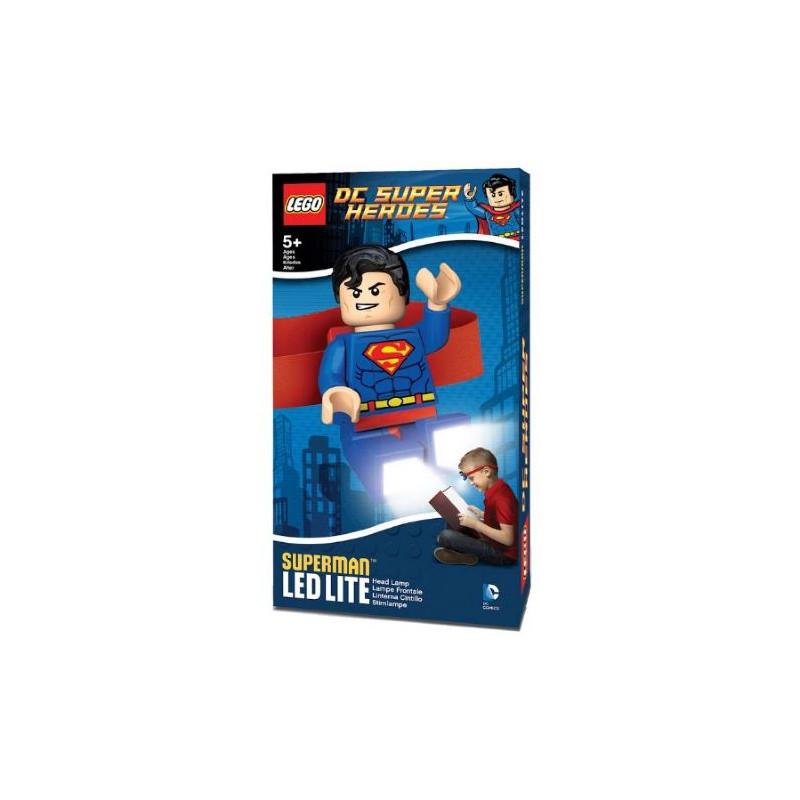 Конструктор Челник със Супермен с LED Лампа  44485