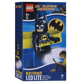 LEGO - челник с LED Лампа - Batman Lego 44490