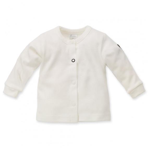 Памучна жилетка с дълъг ръкав за бебе Pinokio 44502