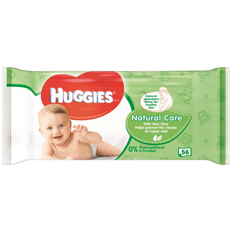 Мокри кърпи Natural Care  45034