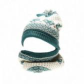 Комплект шапка с шал унисекс KIABI 45375