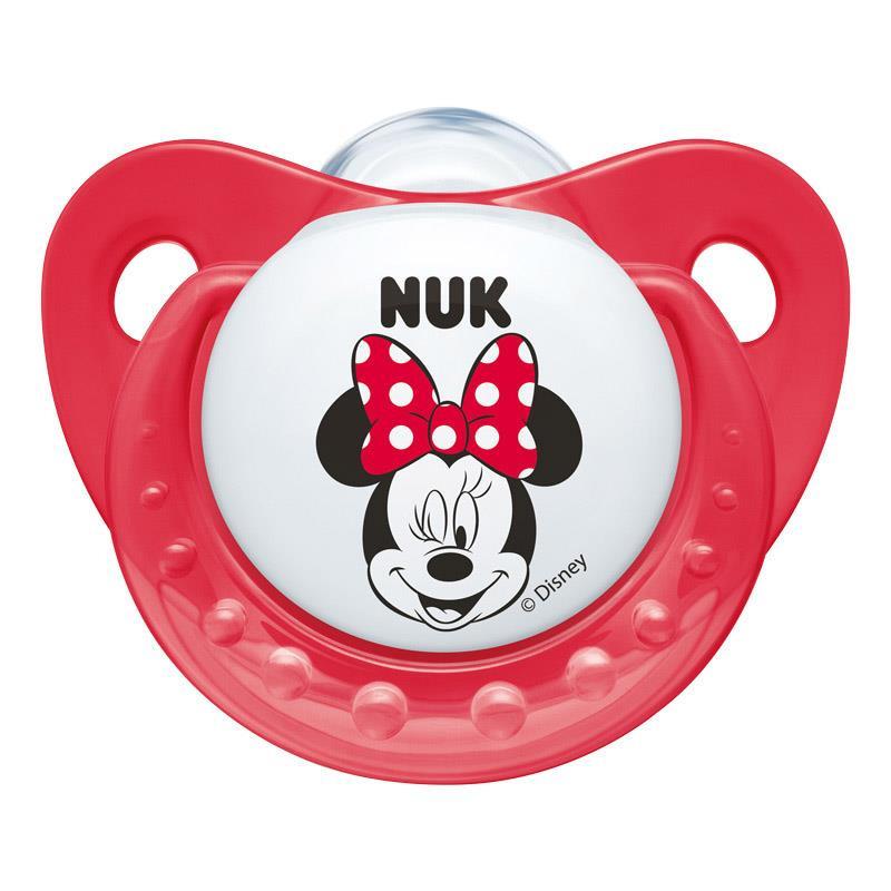 """Биберон тип """"залъгалка"""" Mickey, 0+ месеца, 1 бр.  46321"""