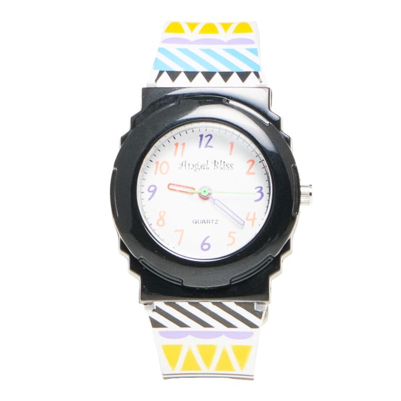 Спортен часовник черен  50446