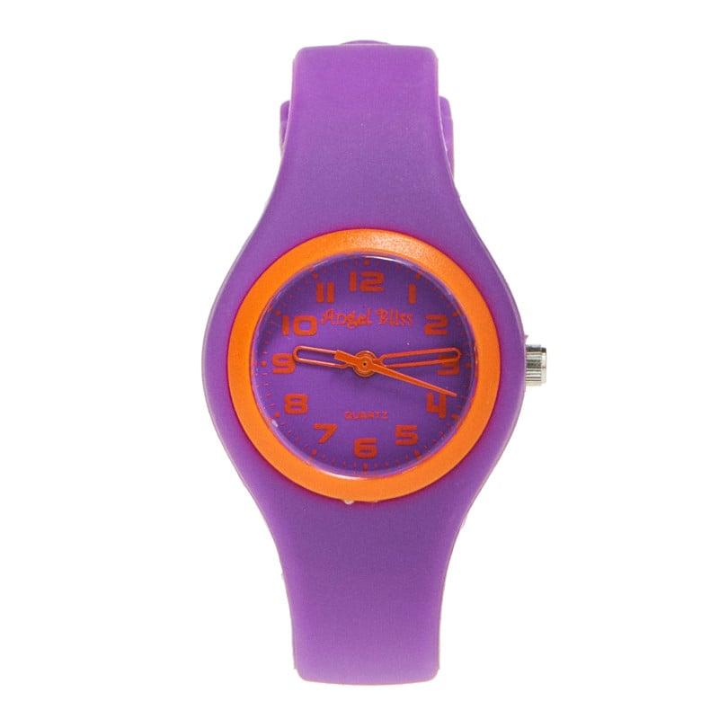 Часовник за момиче лилав  50506