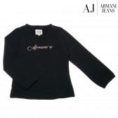 Памучна блуза с дълъг ръкав за момиче Armani 50570