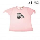 Памучна блуза с къс ръкав за бебе момиче Armani 50582