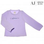 Памучна блуза с дълъг ръкав за момиче Armani 50609